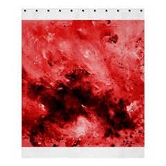 Red Abstract Shower Curtain 60  X 72  (medium)