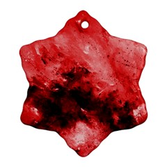 Red Abstract Ornament (snowflake)