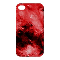 Red Abstract Apple Iphone 4/4s Hardshell Case