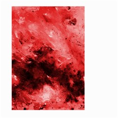 Red Abstract Large Garden Flag (Two Sides)
