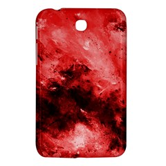 Red Abstract Samsung Galaxy Tab 3 (7 ) P3200 Hardshell Case