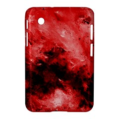 Red Abstract Samsung Galaxy Tab 2 (7 ) P3100 Hardshell Case