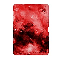 Red Abstract Samsung Galaxy Tab 2 (10 1 ) P5100 Hardshell Case