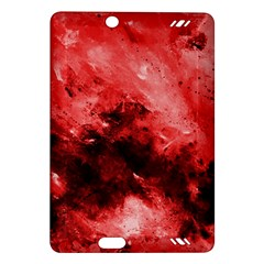 Red Abstract Kindle Fire Hd (2013) Hardshell Case