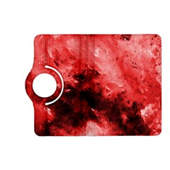 Red Abstract Kindle Fire HD (2013) Flip 360 Case