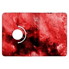 Red Abstract Kindle Fire HDX Flip 360 Case
