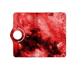 Red Abstract Kindle Fire Hdx 8 9  Flip 360 Case