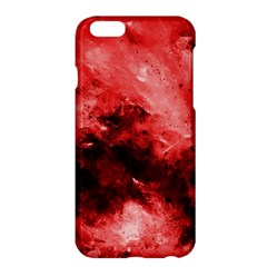 Red Abstract Apple iPhone 6 Plus Hardshell Case