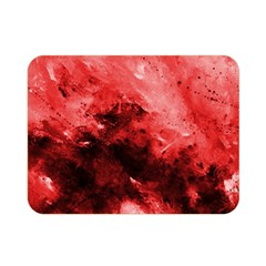 Red Abstract Double Sided Flano Blanket (Mini)