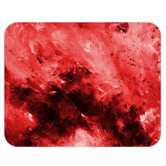 Red Abstract Double Sided Flano Blanket (Medium)