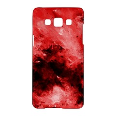 Red Abstract Samsung Galaxy A5 Hardshell Case