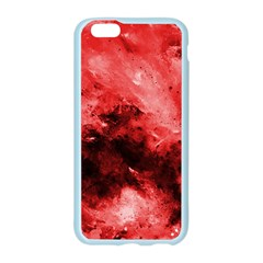 Red Abstract Apple Seamless iPhone 6 Case (Color)