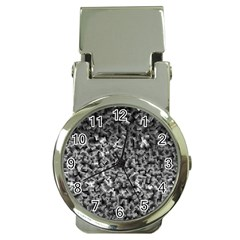 Gray Cubes Money Clip Watches