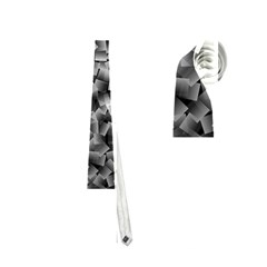 Gray Cubes Neckties (two Side)