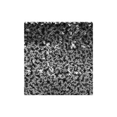 Gray Cubes Shower Curtain 48  x 72  (Small)