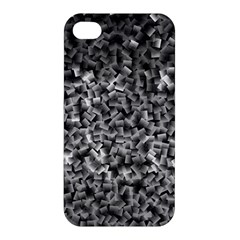Gray Cubes Apple Iphone 4/4s Hardshell Case