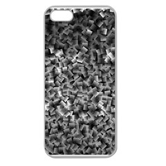 Gray Cubes Apple Seamless Iphone 5 Case (clear)