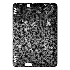 Gray Cubes Kindle Fire Hdx Hardshell Case