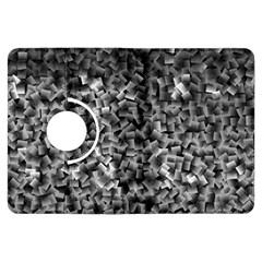 Gray Cubes Kindle Fire Hdx Flip 360 Case