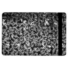 Gray Cubes Ipad Air Flip