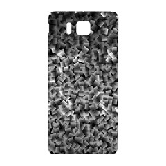 Gray Cubes Samsung Galaxy Alpha Hardshell Back Case