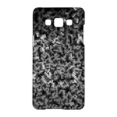 Gray Cubes Samsung Galaxy A5 Hardshell Case