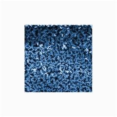 Blue Cubes Collage 12  X 18