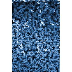 Blue Cubes 5 5  X 8 5  Notebooks