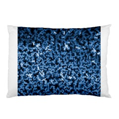 Blue Cubes Pillow Cases (Two Sides)