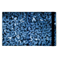Blue Cubes Apple Ipad 2 Flip Case
