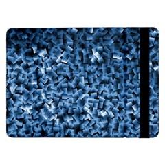 Blue Cubes Samsung Galaxy Tab Pro 12.2  Flip Case