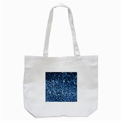Blue Cubes Tote Bag (white)