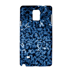 Blue Cubes Samsung Galaxy Note 4 Hardshell Case