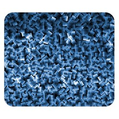 Blue Cubes Double Sided Flano Blanket (Small)