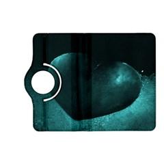 Teal Heart Kindle Fire Hd (2013) Flip 360 Case