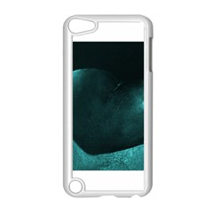 Teal Heart Apple Ipod Touch 5 Case (white)