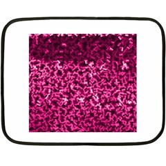 Pink Cubes Fleece Blanket (Mini)
