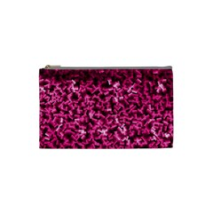 Pink Cubes Cosmetic Bag (small)