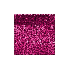 Pink Cubes Shower Curtain 48  x 72  (Small)