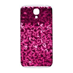 Pink Cubes Samsung Galaxy S4 I9500/i9505  Hardshell Back Case