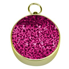 Pink Cubes Gold Compasses