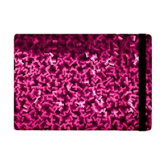 Pink Cubes iPad Mini 2 Flip Cases