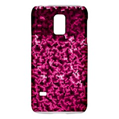 Pink Cubes Galaxy S5 Mini