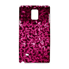 Pink Cubes Samsung Galaxy Note 4 Hardshell Case