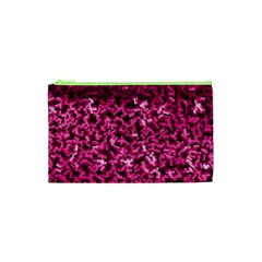 Pink Cubes Cosmetic Bag (XS)