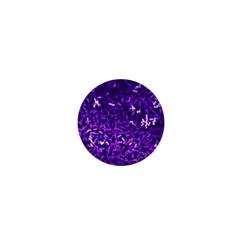 Purple Cubes 1  Mini Buttons