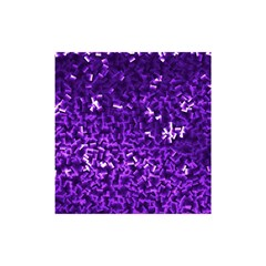 Purple Cubes Shower Curtain 48  x 72  (Small)