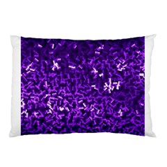 Purple Cubes Pillow Cases (two Sides)