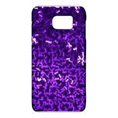Purple Cubes Galaxy S6