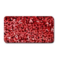 Red Cubes Medium Bar Mats